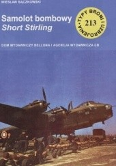 Okładka książki Samolot bombowy Short Stirling Wiesław Bączkowski