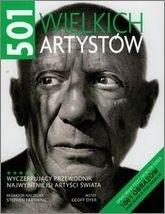 Okładka książki 501 wielkich artystów Stephen Farthing