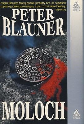 Okładka książki Moloch Peter Blauner