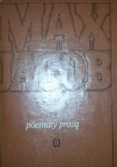 Okładka książki Poematy prozą Max Jacob