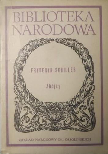 Okładka książki Zbójcy Friedrich Schiller