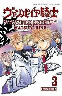 Okładka książki Vampire Knight tom 3 Hino Matsuri