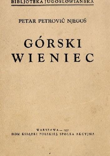 Okładka książki Górski wieniec Petar Petrović Njegos