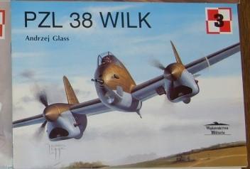 Okładka książki PZL 38 Wilk Andrzej Glass