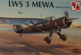Okładka książki LWS 3 Mewa Andrzej Glass