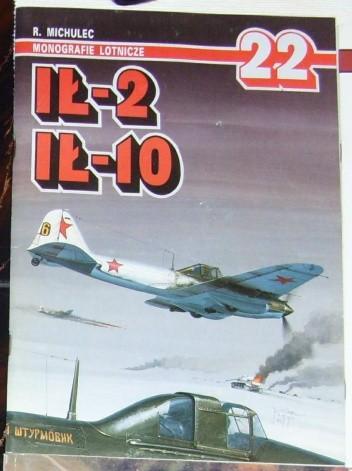 Okładka książki Ił-2, Ił-10. Robert Michulec