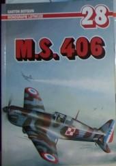 Okładka książki M.S. 406
