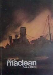 "Okładka książki ""San Andreas"" Alistair MacLean"