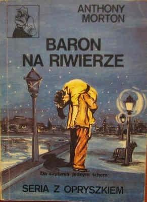 Okładka książki Baron na Riwierze Anthony Morton