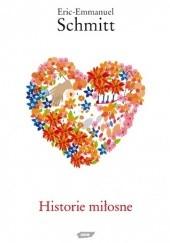 Okładka książki Historie miłosne Éric-Emmanuel Schmitt