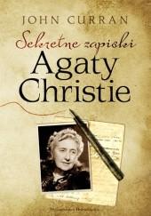 Okładka książki Sekretne zapiski Agaty Christie John Curran