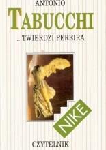 Okładka książki ...twierdzi Pereira