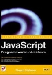 Okładka książki JavaScript. Programowanie obiektowe Stoyan Stefanov