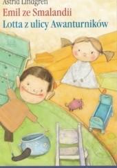 Okładka książki Emil ze Smalandii. Lotta z ulicy Awanturników Astrid Lindgren