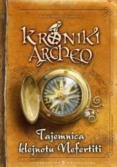 Okładka książki Tajemnica Klejnotu Nefertiti Agnieszka Stelmaszyk