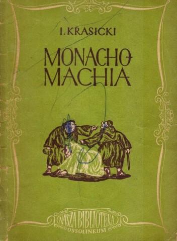 Okładka książki Monachomachia czyli Wojna Mnichów Ignacy Krasicki