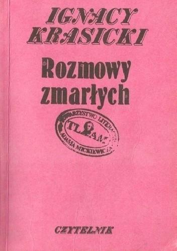Okładka książki Rozmowy zmarłych Ignacy Krasicki