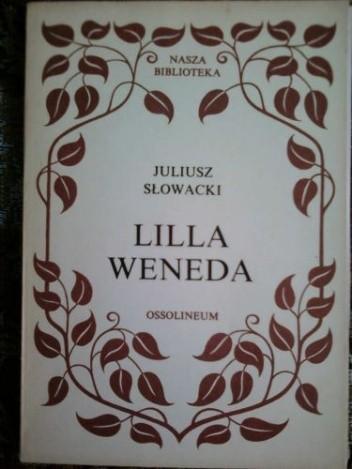 Okładka książki Lilla Weneda Juliusz Słowacki