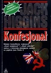 Okładka książki Konfesjonał Jack Higgins