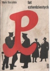 Okładka książki Legenda lat czterdziestych Maria Starzyńska
