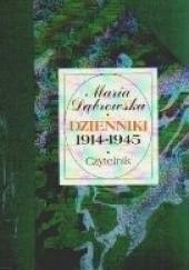 Okładka książki Dzienniki 1914 - 1945 [T.1, 1914-1925] Maria Dąbrowska