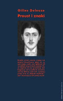 Okładka książki Proust i znaki Gilles Deleuze