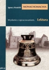 Okładka książki Monachomachia Ignacy Krasicki
