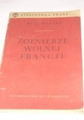 Okładka książki Żołnierze wolnej Francji Paul Tillard