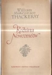 Okładka książki Rodzina Newcomeów tom 1 William Makepeace Thackeray