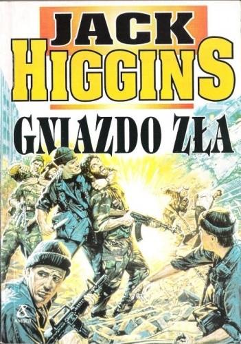 Znalezione obrazy dla zapytania Jack Higgins Gniazdo zła