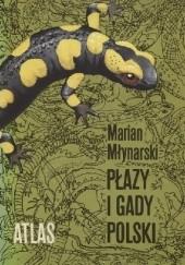 Okładka książki Płazy i gady Polski Marian Młynarski