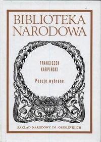 Poezje Wybrane Franciszek Karpiński 75933 Lubimyczytaćpl