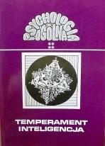Okładka książki Temperament i inteligencja Jan Strelau,Tadeusz Tomaszewski