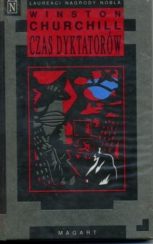 Okładka książki Czas dyktatorów Winston Churchill