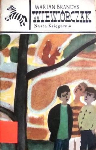 Okładka książki Wiewiórczak Marian Brandys