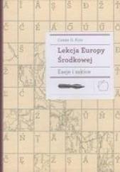 Okładka książki Lekcja Europy Środkowej Csaba G. Kiss