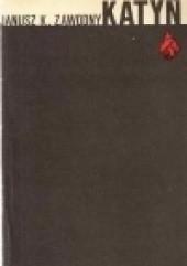 Okładka książki Katyń Janusz Kazimierz Zawodny