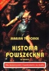 Okładka książki Historia powszechna w pigułce Marian Toporek