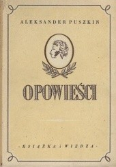 Okładka książki Opowieści Aleksander Puszkin
