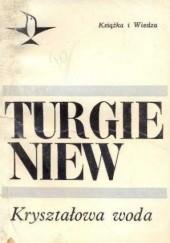 Okładka książki Kryształowa woda Iwan Turgieniew