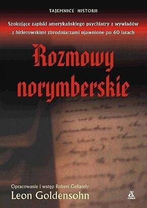 Okładka książki Rozmowy norymberskie Leon Goldensohn