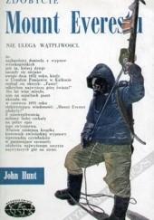 Okładka książki Zdobycie Mount Everestu John Hunt