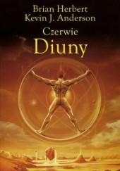 Okładka książki Czerwie Diuny Brian Patrick Herbert,Kevin J. Anderson