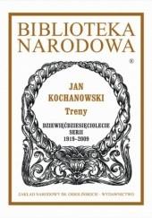 Okładka książki Treny Jan Kochanowski