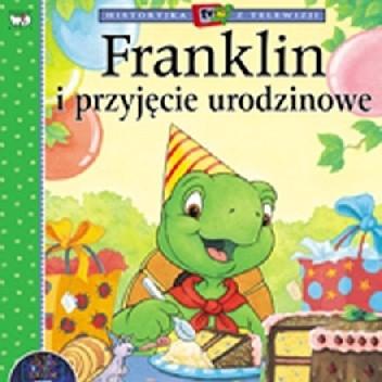 Okładka książki Franklin i przyjęcie urodzinowe Sharon Jennings