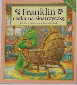 Okładka książki Franklin czeka na siostrzyczkę Paulette Bourgeois,Brenda Clark