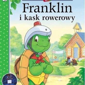 Okładka książki Franklin i kask rowerowy Brenda Clark,Eva Moore