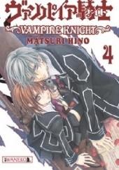Okładka książki Vampire Knight tom 4 Hino Matsuri