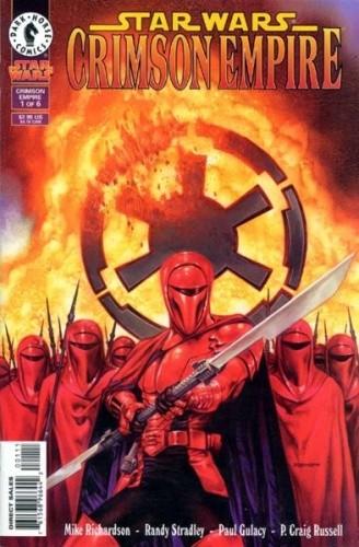 Okładka książki Star Wars: Karmazynowe Imperium 1 Paul Gulacy,Mike Richardson,Randy Stradley