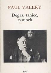 Okładka książki Degas, taniec, rysunek Paul Valéry